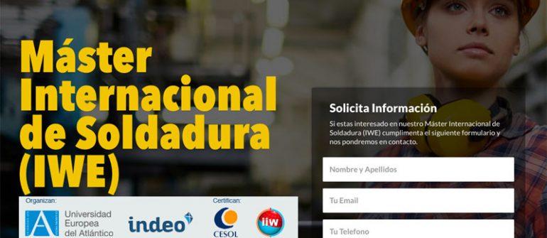 master soldadura